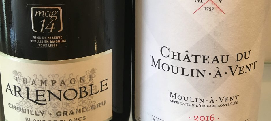 Champagne AR Lenoble et Château du Moulin-à-Vent se réunissent pour WINE PARIS!