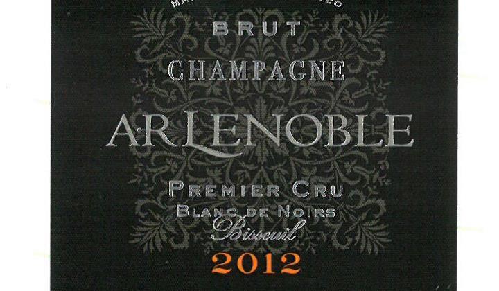 Announcing AR Lenoble Premier Cru Blanc de Noirs Bisseuil 2012 !