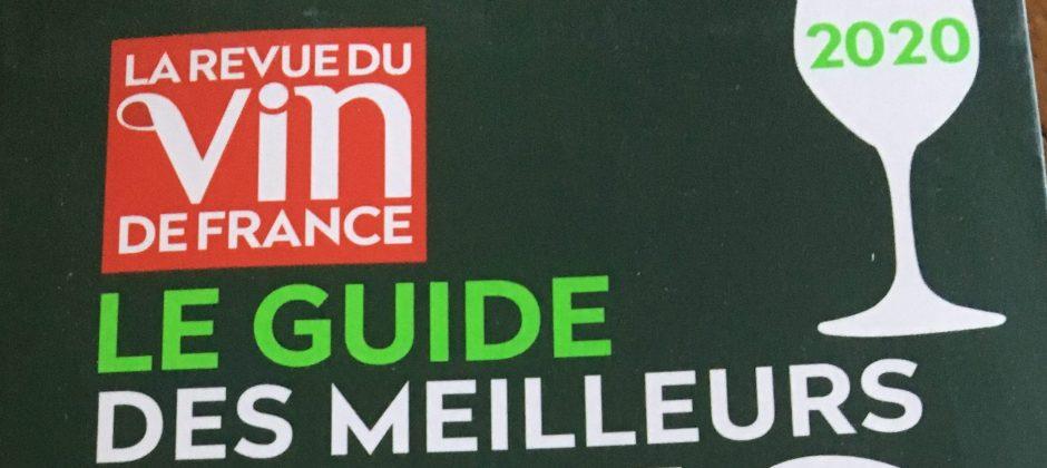 Champagne AR Lenoble selon La Revue du Vin de France Le Guide Des Meilleurs Vins de France 2020