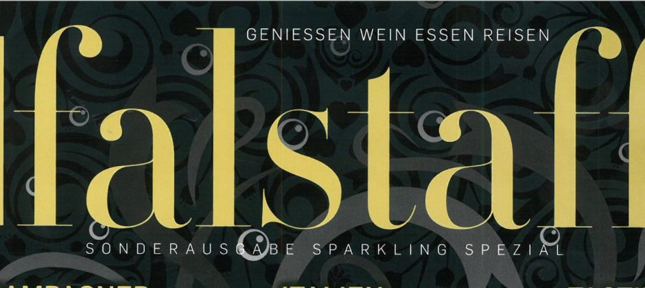 "FALSTAFF – LOTS OF PRAISE FOR AR LENOBLE IN THEIR ""SONDERAUSEGABE SPARKLING SPEZIAL"""
