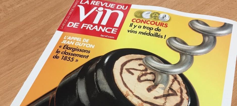 La Revue du Vin de France : « AR Lenoble Intense est l'un des bruts sans année les plus ambitieux de Champagne. »