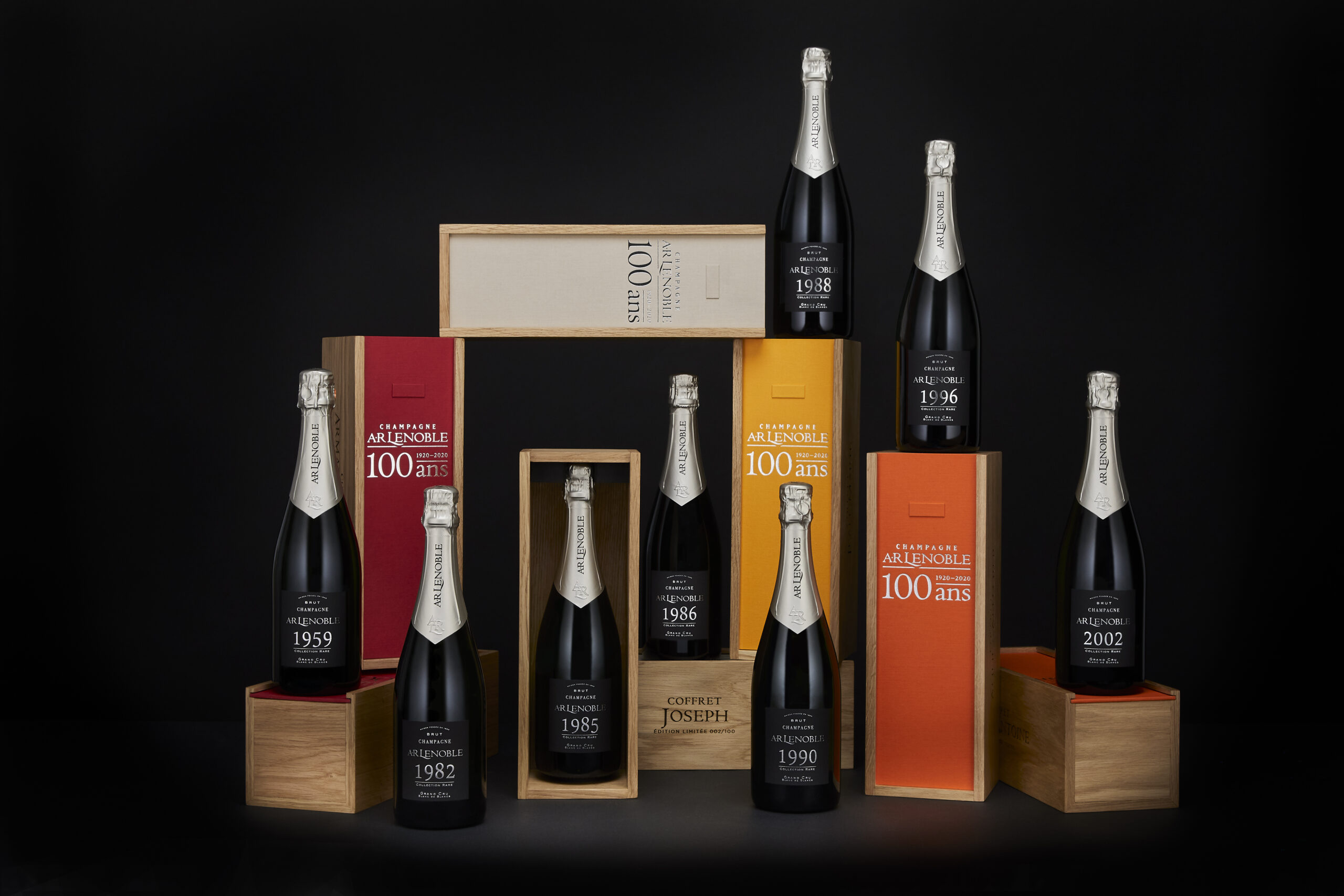 To celebrate our centenary, we have released 8 amazing vintages